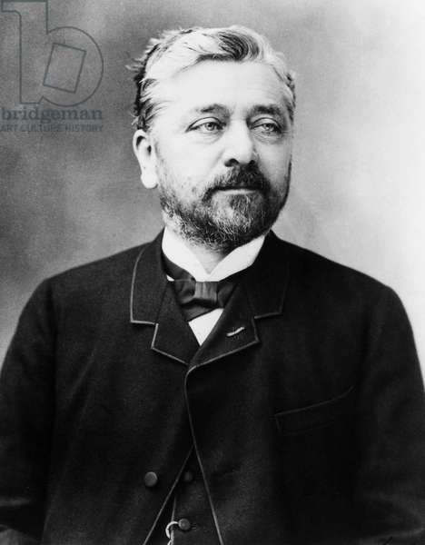 ALEXANDRE-GUSTAVE EIFFEL (1832-1923). French engineer. Undated photograph.