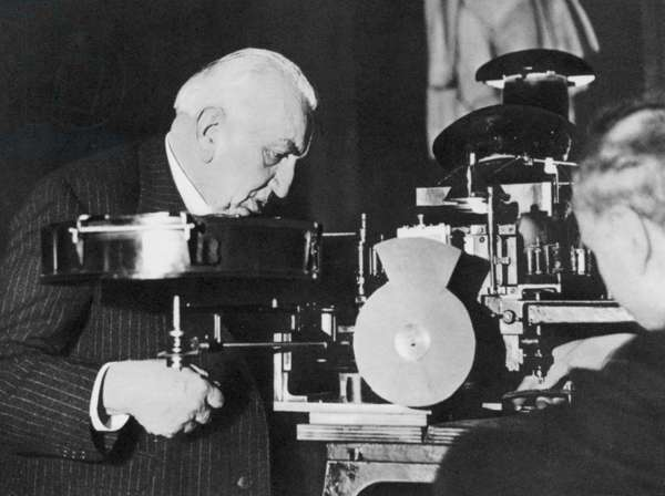 LOUIS LUMIERE (1864-1948) French inventor.