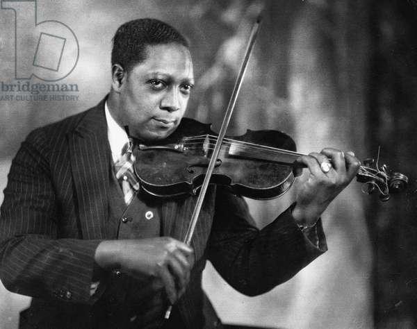 JAMES VAN DER ZEE (1886-1983) American photographer. Photographed in 1931 at his own GCG Photo Studio in New York City's Harlem.