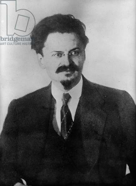 LEON TROTSKY (1879-1940) Né Lev Davidovich Bronstein. Russian Communist leader. Photograph, early 20th century.