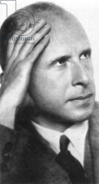 MAX SCHUR (1897-1969) Austrian psychoanalyst. Photographed in the 1930s.