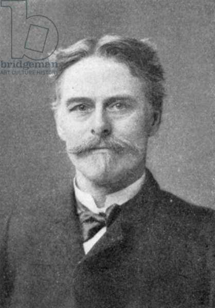 EDWARD DRINKER COPE (1840-1897). American paleontologist. Photographed c.1895.