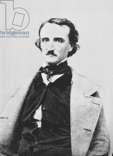 EDGAR ALLAN POE (1809-1849) American writer.