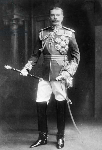 HORATIO HERBERT KITCHENER (1850-1916). First Earl Kitchener of Khartoum and of Broome. British soldier.