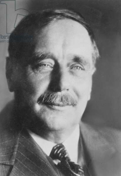 H. G. WELLS (1866-1946) English writer.
