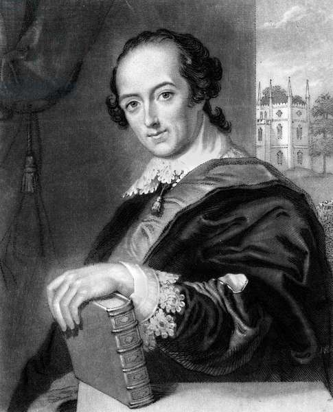 HORACE WALPOLE (1717-1797) 4th Earl of Orford. English man of letters and collector. Mezzotint, c.1850, by John Sartain after a painting, 1754, by John Giles Eccardt.