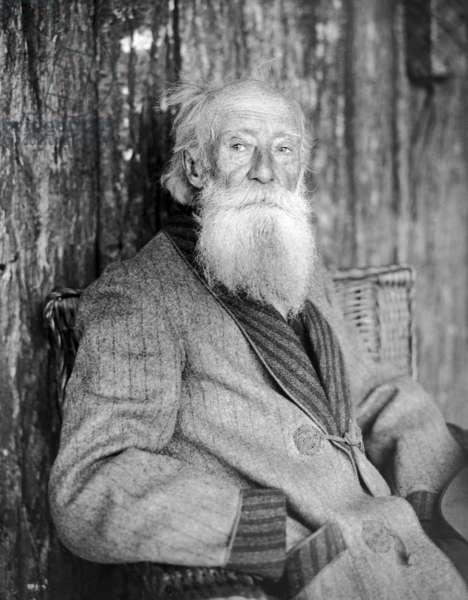 JOHN BURROUGHS (1837-1921) American naturalist. Photograph, n.d.