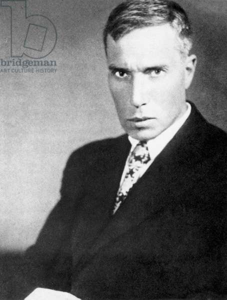 BORIS LEONIDOVICH PASTERNAK (1890-1960). Russian writer. Photographed in the early 1930s.