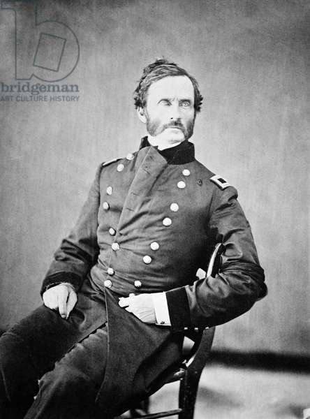 JAMES HENRY CARLETON (1814-1873). Union Army officer in the American Civil War. Also known for his roles fighting in the Mexican-American War and against the Native Americans in the southwestern United States.