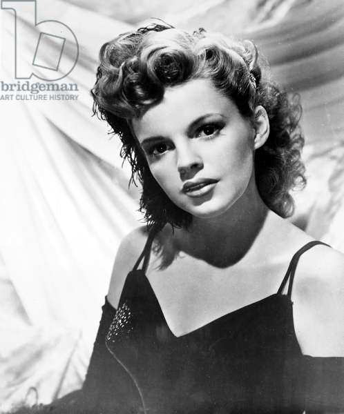 JUDY GARLAND (1922-1969) American singer and actress.