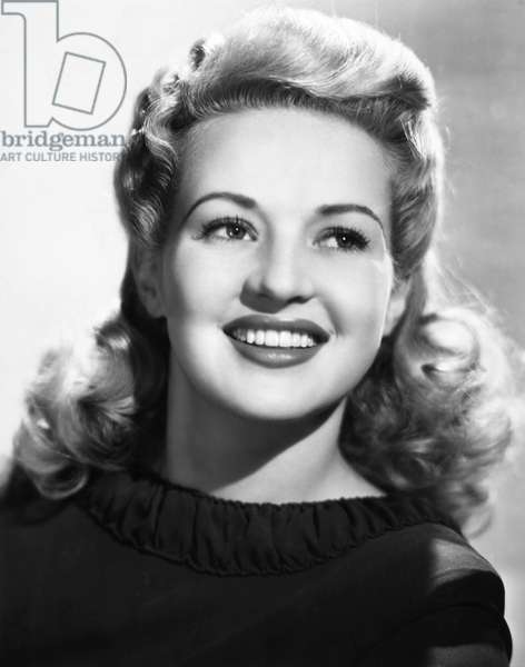 BETTY GRABLE (1916-1973) American actress.
