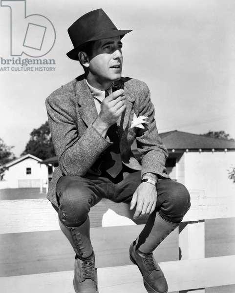 HUMPHREY BOGART (1899-1957) American actor. Photograph, c.1938.