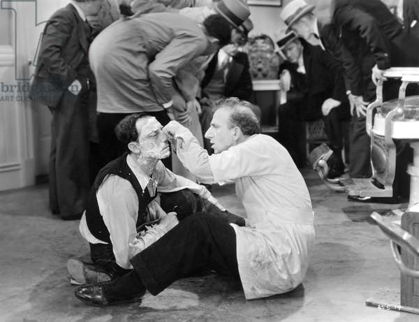 WHAT! NO BEER?, 1933 Jimmy Durante and Buster Keaton in 'What! No Beer?', 1933.