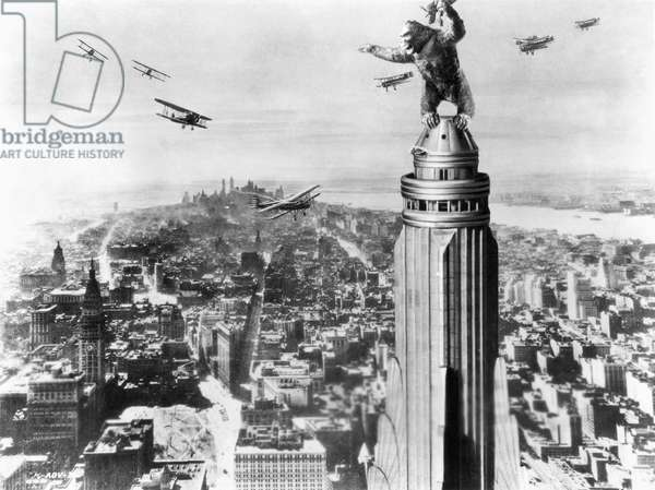 KING KONG, 1933 Film still.