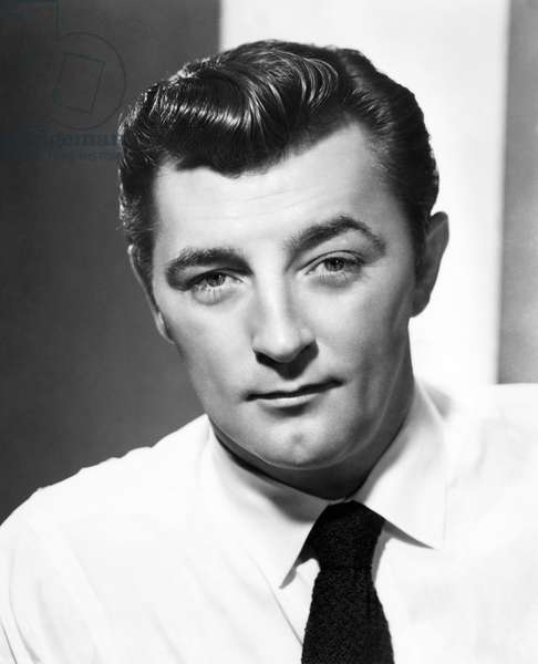 ROBERT MITCHUM (1917-1997) American actor. Photograph, c.1945.