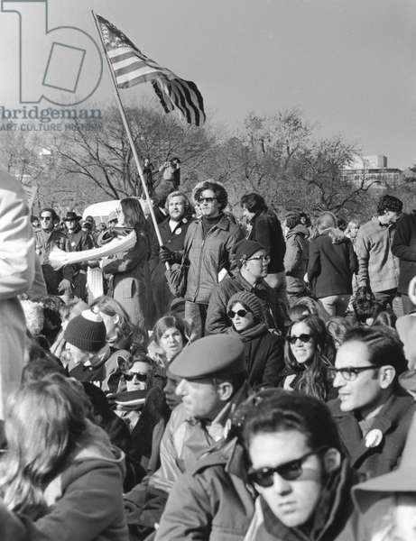ANTI-WAR PROTEST, 1969 Some 600,000 people protest the Vietnam War on 15 November 1969 on the Mall in Washington, D.C.