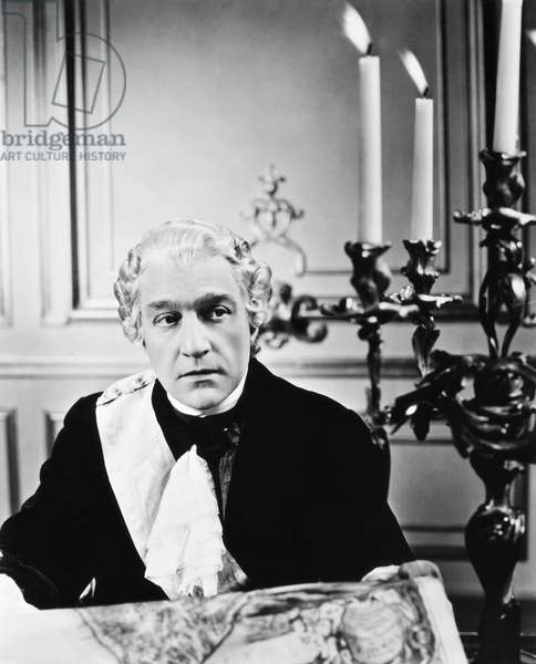 SACHA GUITRY (1885-1957) French actor and dramatist. As Louis XV in 'Champs-Élysées,' 1938, which he also wrote and directed.