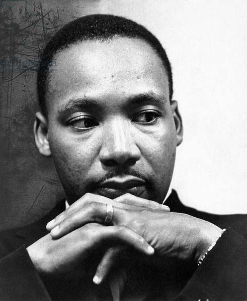 MARTIN LUTHER KING, JR (1929-1968). American cleric and reformer. Photographed c.1965.