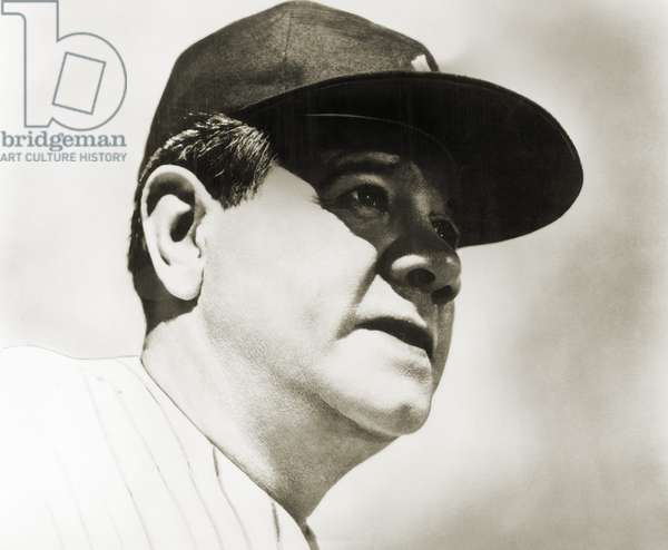 GEORGE H. RUTH (1895-1948) Known as Babe Ruth, American professional baseball player.