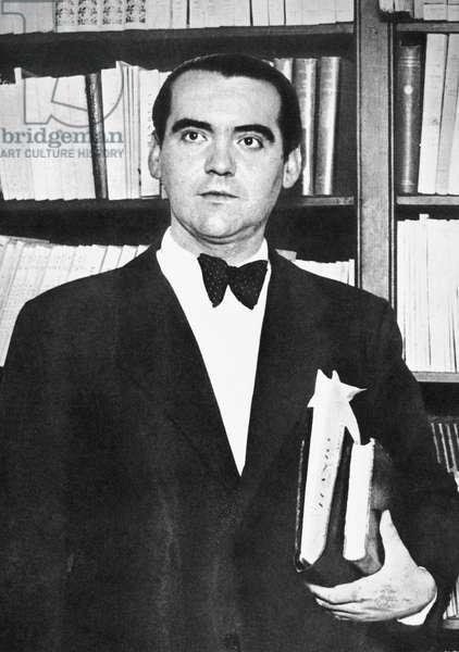 FEDERICO GARCIA LORCA (1899-1936). Spanish man of letters.