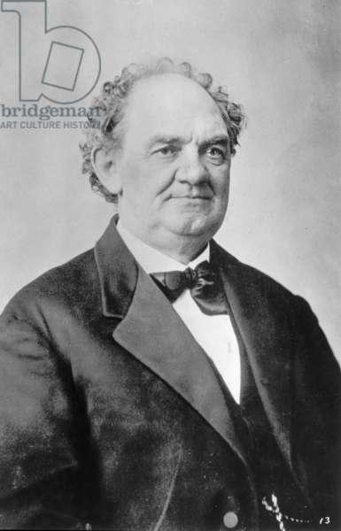 P.T. BARNUM (1810-1891). American showman.