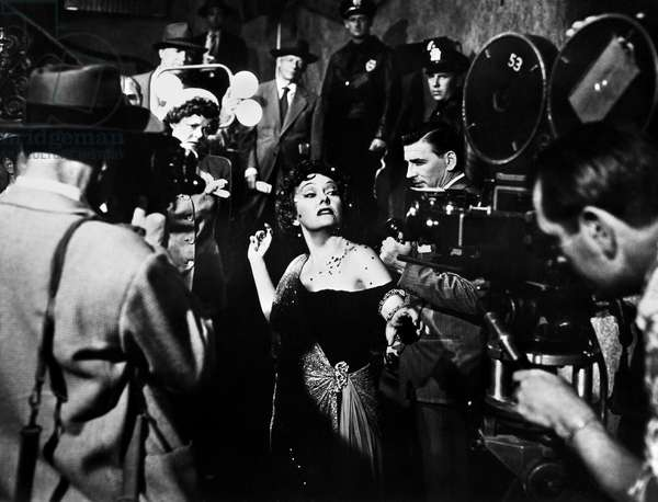 SUNSET BOULEVARD, 1950 Gloria Swanson in the role of Norma Desmond in a scene from the film 'Sunset Boulevard,' directed by Billy Wilder, 1950.