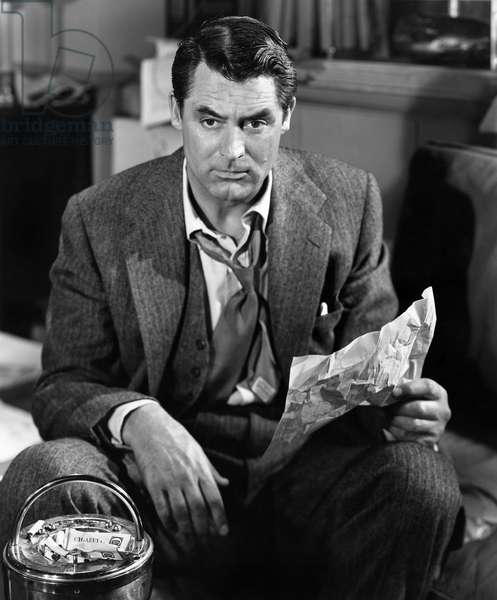 CARY GRANT (1904-1986) British-born American actor. Photograph, 1948.