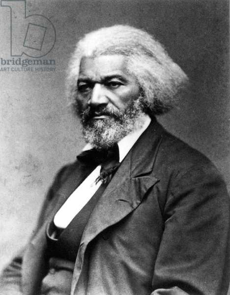 FREDERICK DOUGLASS ( c.1817-1895). American abolitionist. Photographed c.1885.