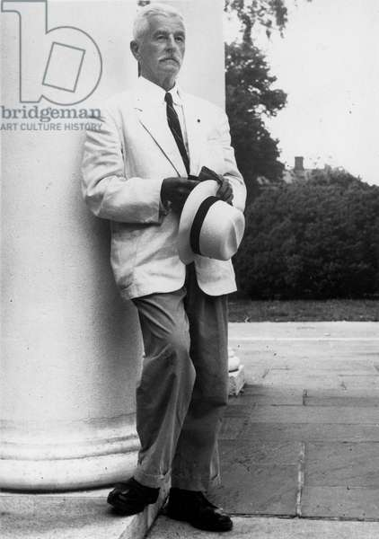 WILLIAM FAULKNER (1897-1962). American writer.