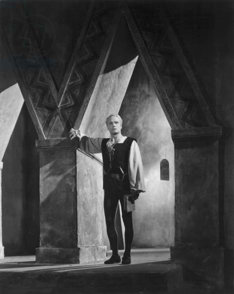 HAMLET: LAURENCE OLIVIER Sir Laurence Olivier in the title role of the 1948 film after Shakespeare's play.