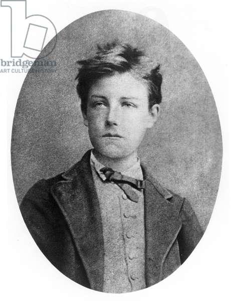 ARTHUR RIMBAUD (1854-1891) French poet.