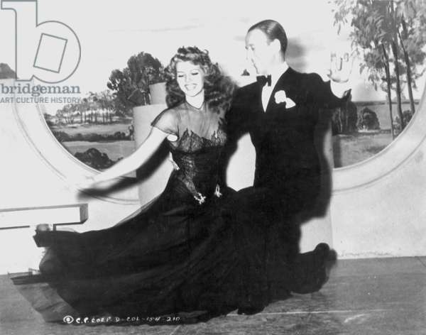 HAYWORTH & ASTAIRE, 1942 Rita Hayworth and Fred Astaire in a still from the 1942 motion picture 'You Were Never Lovelier'.