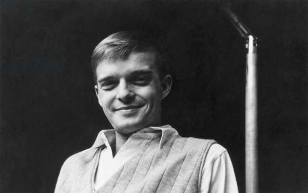 TRUMAN CAPOTE (1924-1984) American writer. Photographed by Fred Melton.