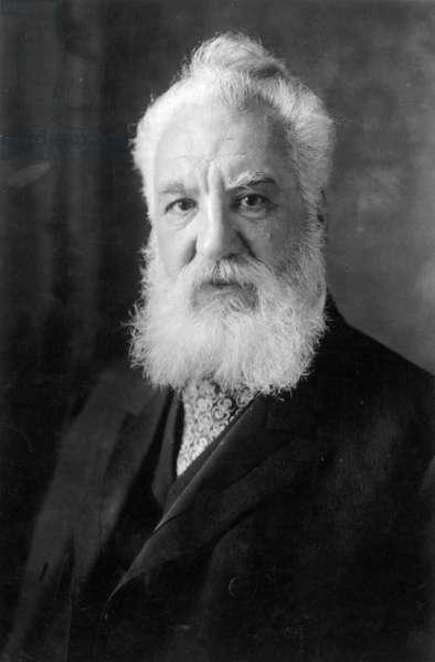 ALEXANDER GRAHAM BELL (1847-1922). American (Scottish-born) teacher and inventor.