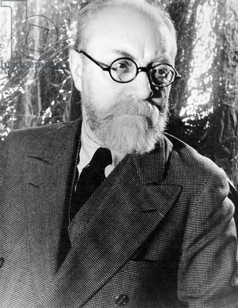 HENRI MATISSE (1869-1954) French painter and sculptor. Photograph by Carl Van Vechten, 1933.