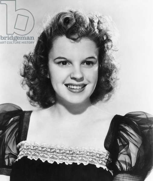 JUDY GARLAND (1922-1969) American singer and actress.