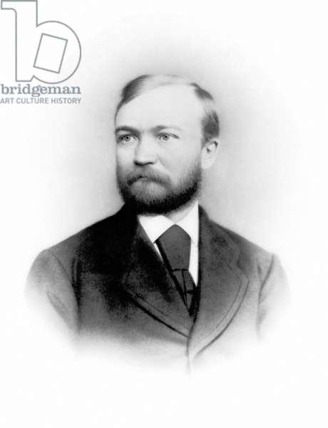 ANDREW CARNEGIE (1835-1919) American industrialist.