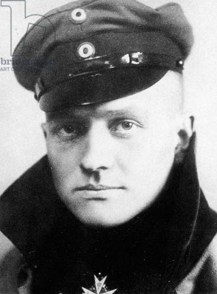 MANFRED von RICHTHOFEN (1892-1918). Known as the Red Baron. German aviator. Photographed in 1917.