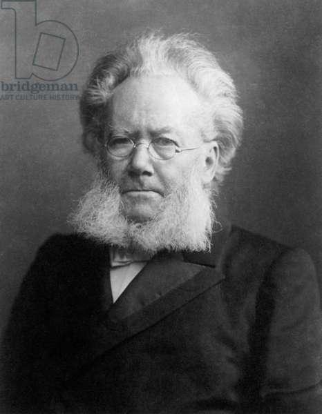 HENRIK IBSEN (1828-1906) Norwegian poet and dramatist.
