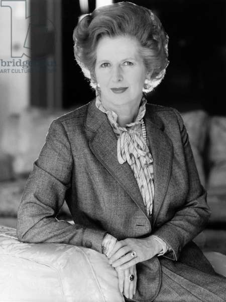 MARGARET THATCHER (1925-2013). English politician. Photograph, c.1979.