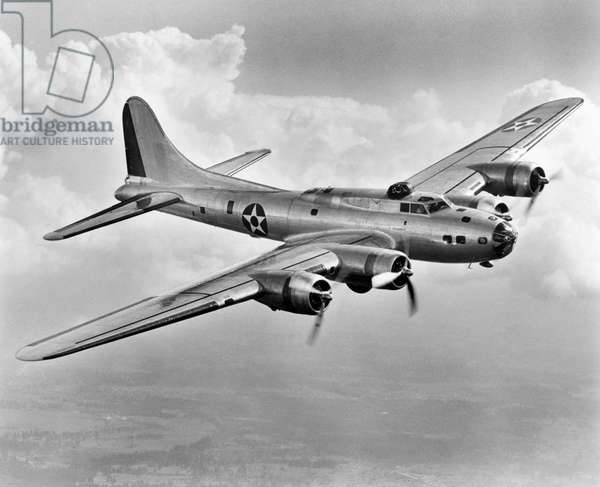 WWII: FLYING FORTRESS 1941 A Boeing B17 'Flying Fortress,' 1941.