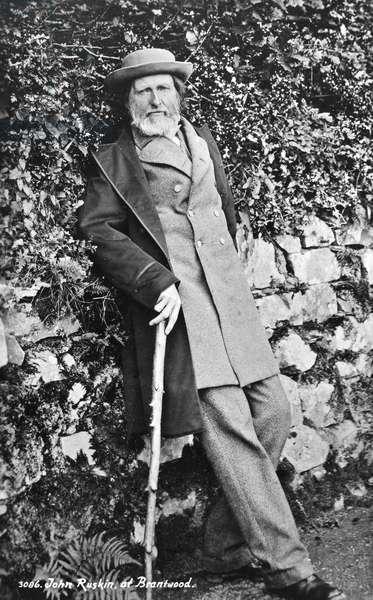 JOHN RUSKIN (1819-1900) English critic.