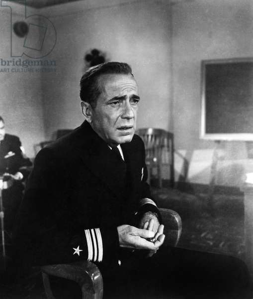 THE CAINE MUTINY, 1954 Humphrey Bogart in 'The Caine Mutiny,' directed by Edward Dmytryk, 1954.