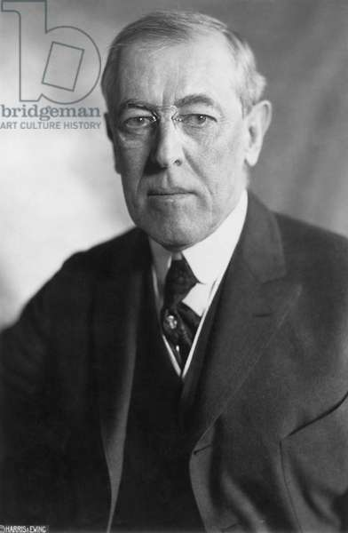 WOODROW WILSON (1856-1924) 28th President of the United States.
