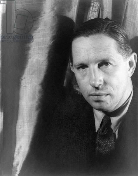 LOUIS BROMFIELD (1896-1956) American author and conservationist. Photographed by Carl Van Vechten, 1933.