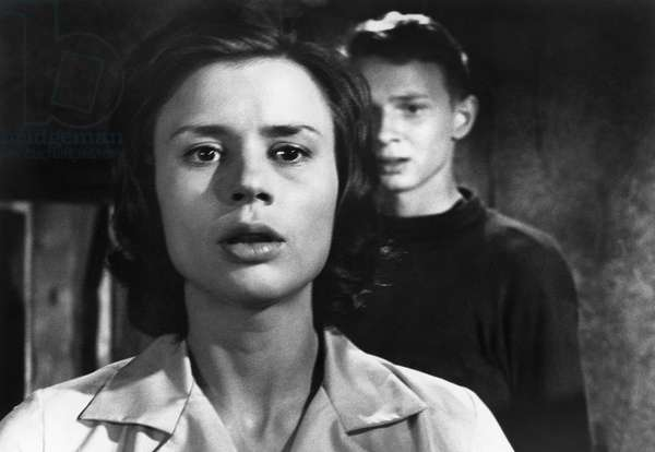 THROUGH A GLASS DARKLY Harriet Andersson and Lars Passgård in a scene from 'Through a Glass Darkly,' directed by Ingmar Bergman, 1961.