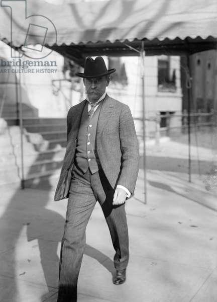 ROBERT PEARY (1856-1920) American Arctic explorer. Photograph, 1914.