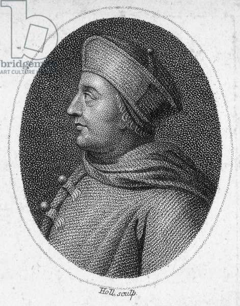 THOMAS WOLSEY ( c.1475-1530) English prelate and statesman. Aquatint engraving, early 19th century.