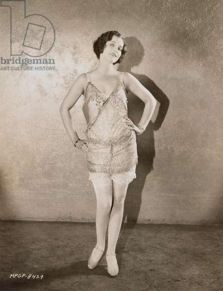 FASHION: FLAPPER, 1926.