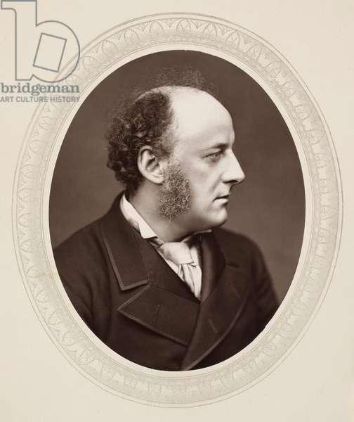 SIR JOHN EVERETT MILLAIS (1829-1896). English painter. Photographed c.1876.